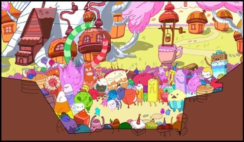 Adventure Time Production Art