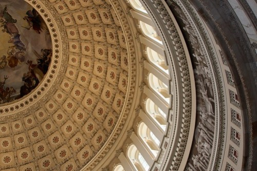 Rotunda at the U.S. Capitol, Washington DC