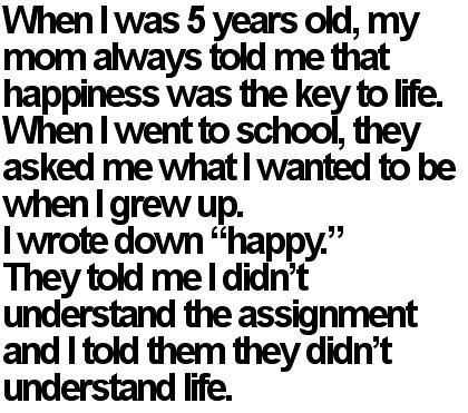 I Understand Life