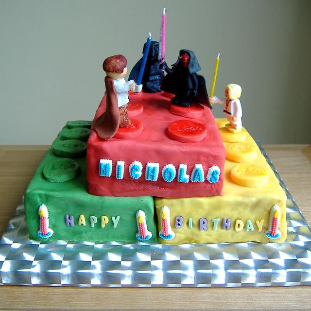 Lego Star Wars Cake Flickr Photo Sharing