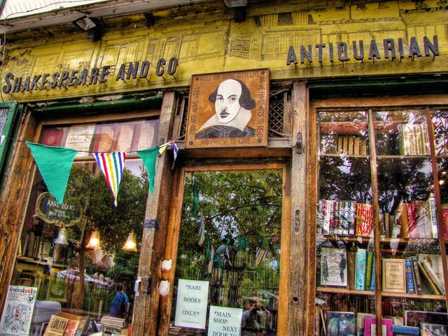 Shakespeare & Co. Bookstore in Paris