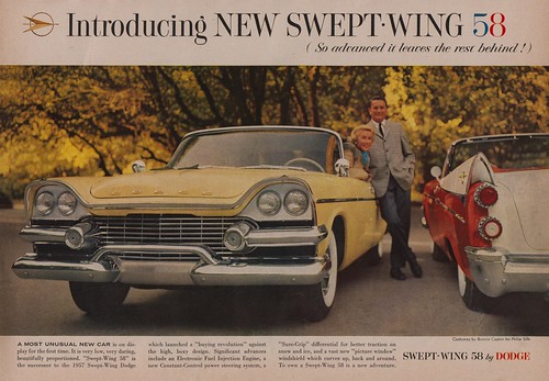 Swept Wing '58 by Dodge