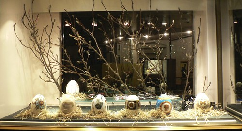 Easter store window by shop window