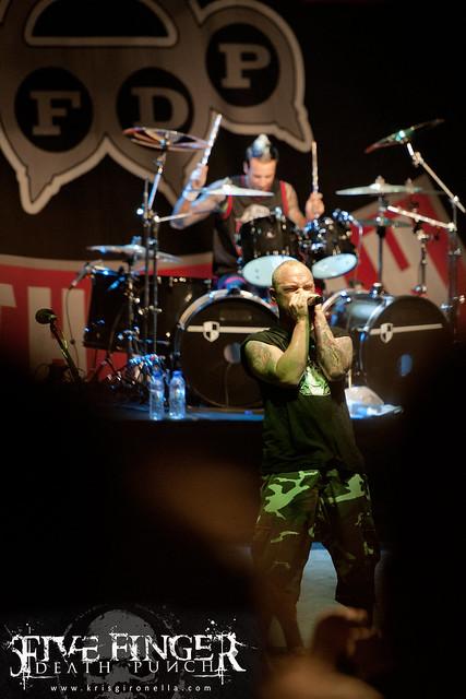 Five Finger Death Punch - Singapore Rock Festival 2014