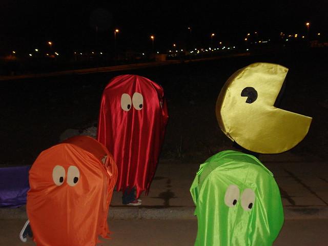 PacMan y sus amigos