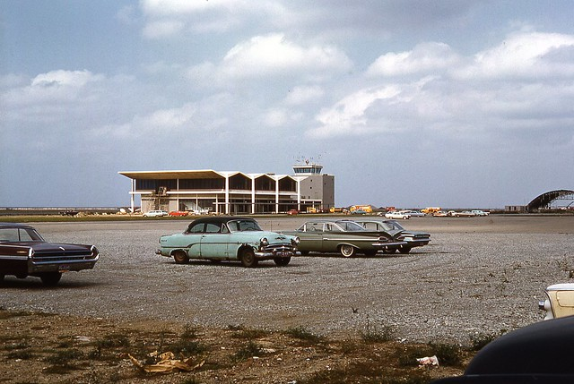 Burke Lakefront Airport Cleveland Ohio 1962