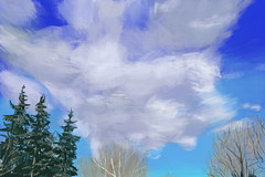 Texture Study 2 - Clouds