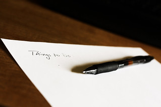 To Do List by David Machiavello on Flickr
