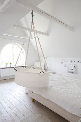 Hanging Bassinet Via Desiretoinspire By Lorigami
