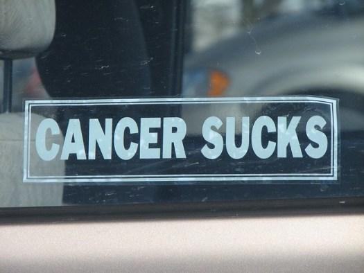cancer • sucks