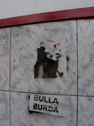 """north Quito (near Parque El Ejido), Ecuador: """"Bulla Zurda"""" [2007-2008]"""