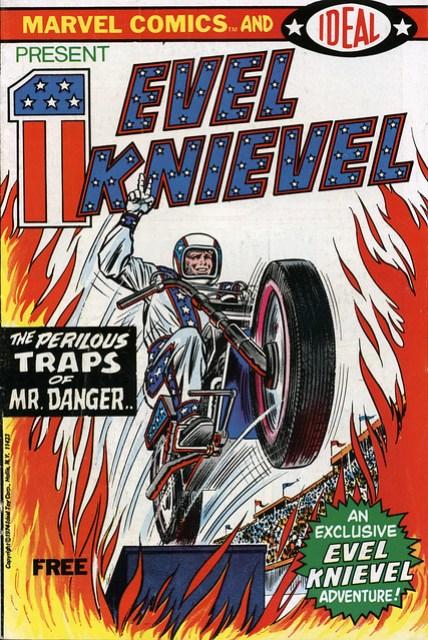 Evel Knievel Comic