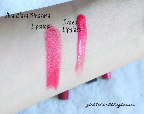 MAC Viva Glam Rihanna swatches