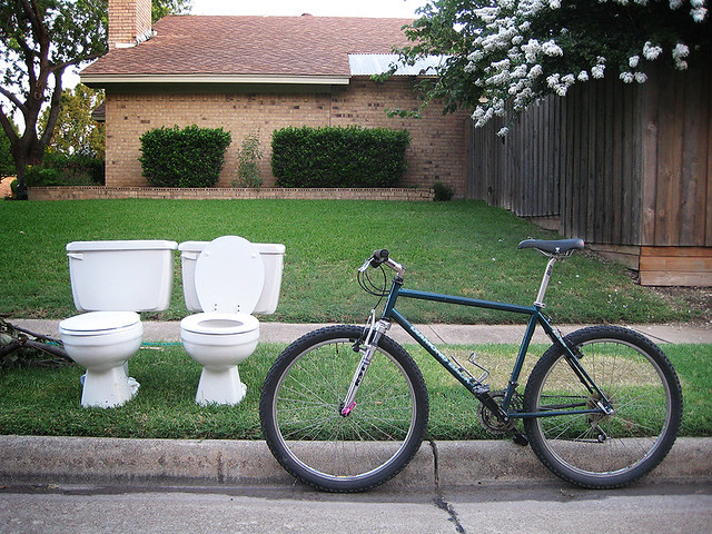 His and Hers - Toilets 5 and 6