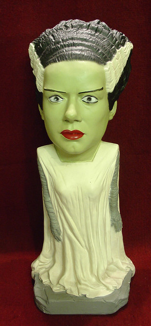 Esco Bride of Frankenstein Elsa Lanchester Statue Flickr