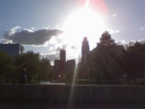 Sunset Across The Omaha Skyline