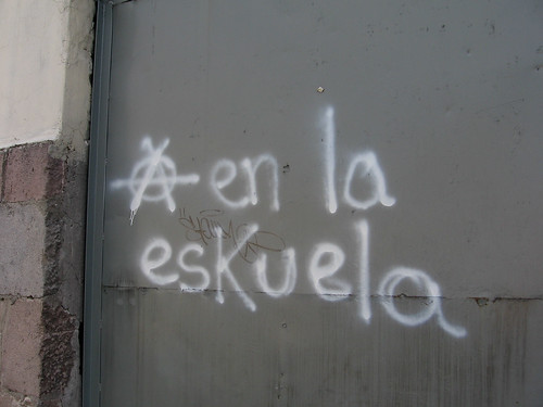 "Old Town Qutio, Ecuador: ""Anarchy in the school"" [2007-2008]"