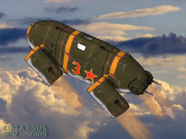 AERODYNE 105 Soviet climb