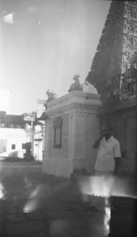 Man at Temple