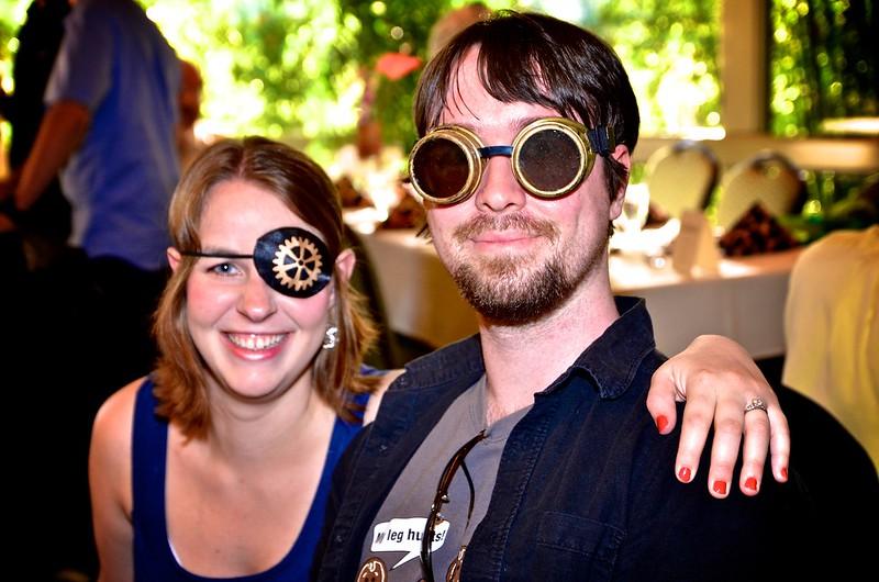 S&D Steampunk Wedding Celebration