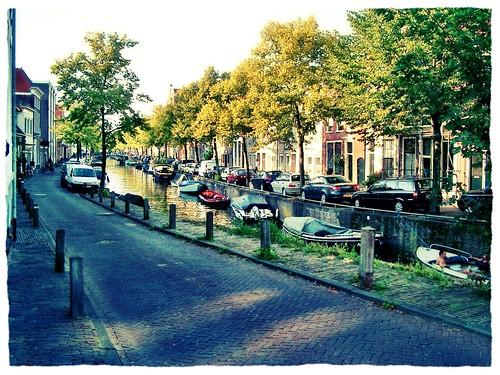 Haarlem Grachten by SpatzMe