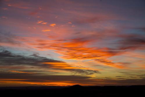 Fiery Sunrise by Daniel Hall - AUS
