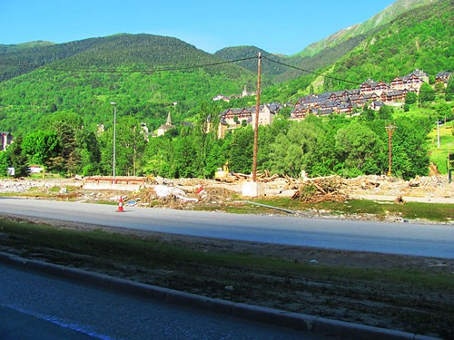 Pyrenees Mountains Flood Damage