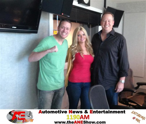 "Actress, Model, and Co-Host of The Drew Pearson Show, Jennifer Reed talks about celebrity updates with Josh ""Social Media's Guru"" Deaton and James ""The Spin Doctor"" Schaefer both of DeliveryMaxx on The ANE Show. by theaneshow"