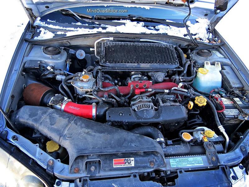 2004 Subaru WRX STi Engine Bay
