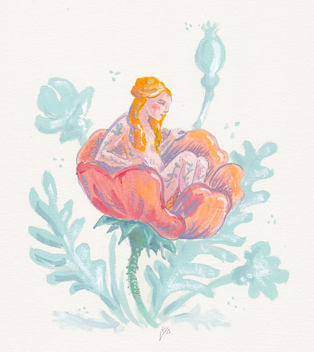 Illustration Friday: Exotic