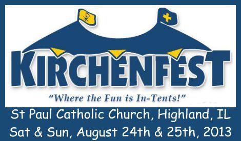 Kirchenfest 8-24, 8-25-13