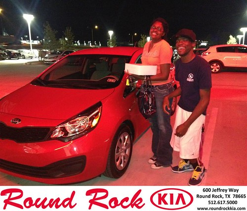 Thank you to Moriah Finley on your new car   from Bobby Nestler and everyone at Round Rock Kia! by RoundRockKia
