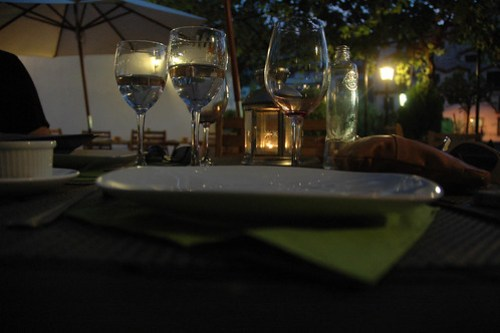 Dinner out in Monachil, Spain