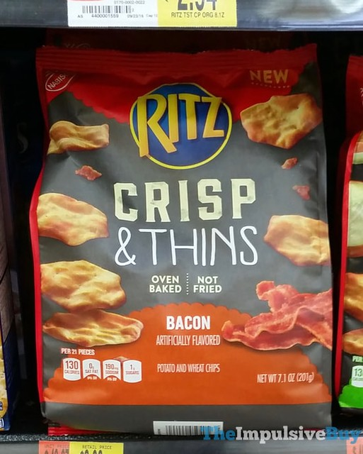 Ritz Bacon Crisp & Thins Chips