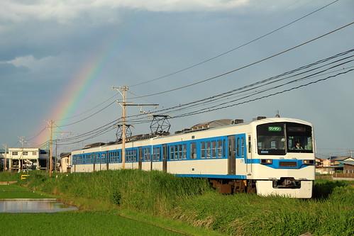 虹と6000系