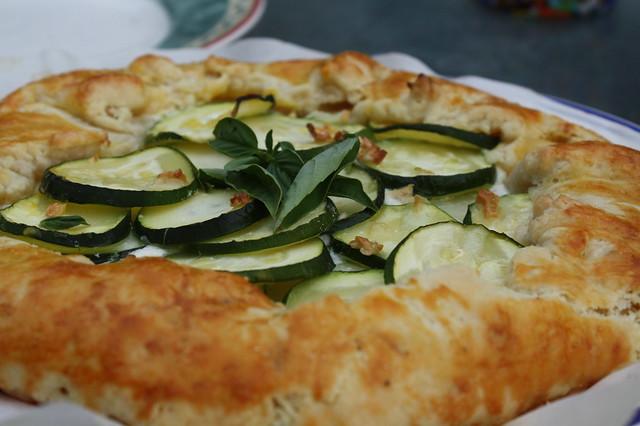Zucchini Ricotta Galette (smitten kitchen recipe)