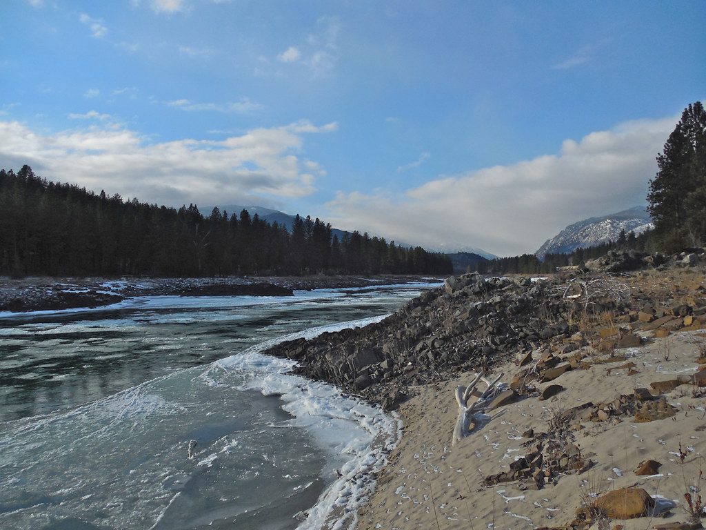 Ice on the Clark Fork