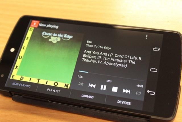 BubbleUPnP on Android