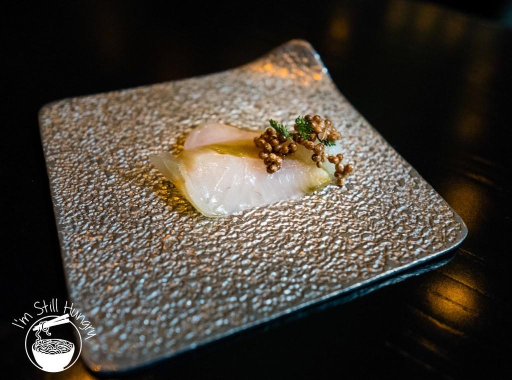 Sepia restaurant john dory sashimi