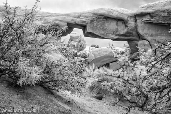 Devils Garden # - Nikon 1 V1 - Infrared 700nm & 6,7-13mm