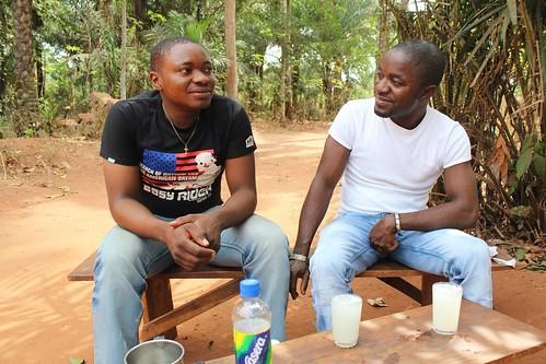 Juju Films Crew in Iheaka Village - Enugu State. by Jujufilms