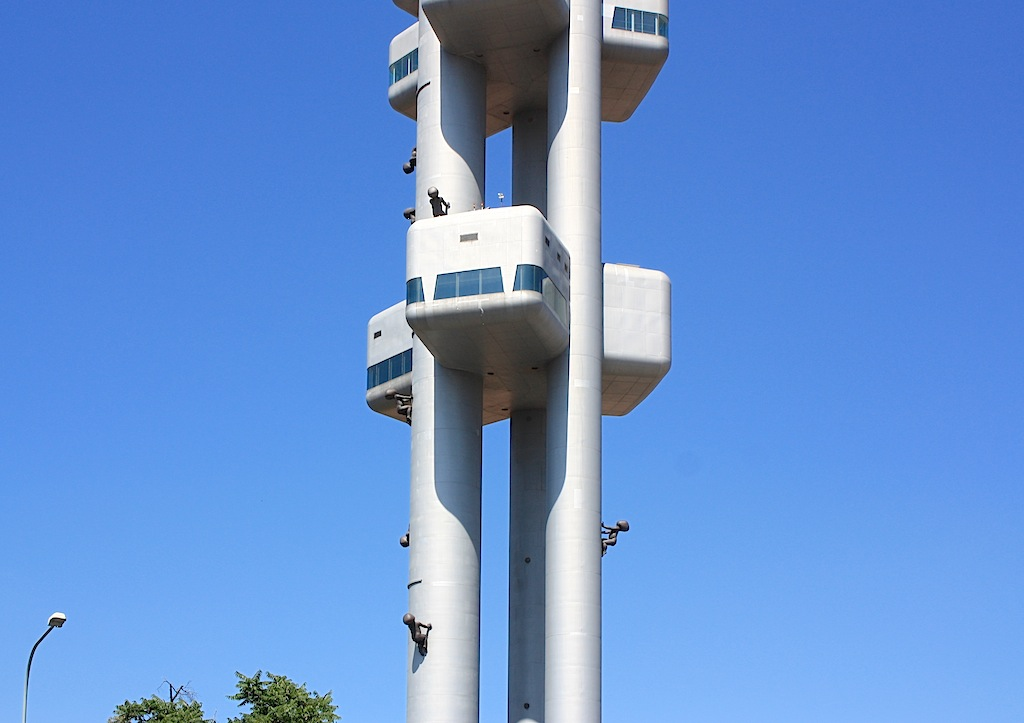 Zizkov TV Tower, Prague, Czech Republic