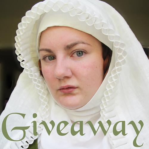 Frilled veil giveaway