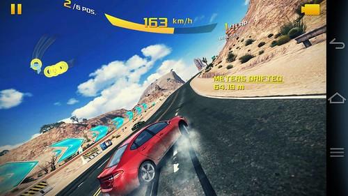 เล่นเกม Asphalt 8: Airborne บน Pantech Vega Im-A860