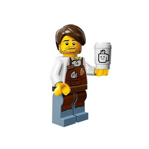 The LEGO Movie Minifigures Larry the Barista