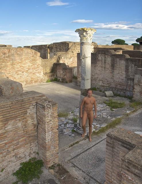 naturist 0003 Ostia Antica, Rome, Italy