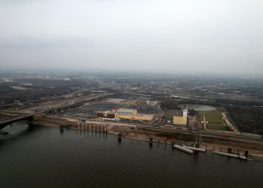 Mississippi River from the St. Louis Arch