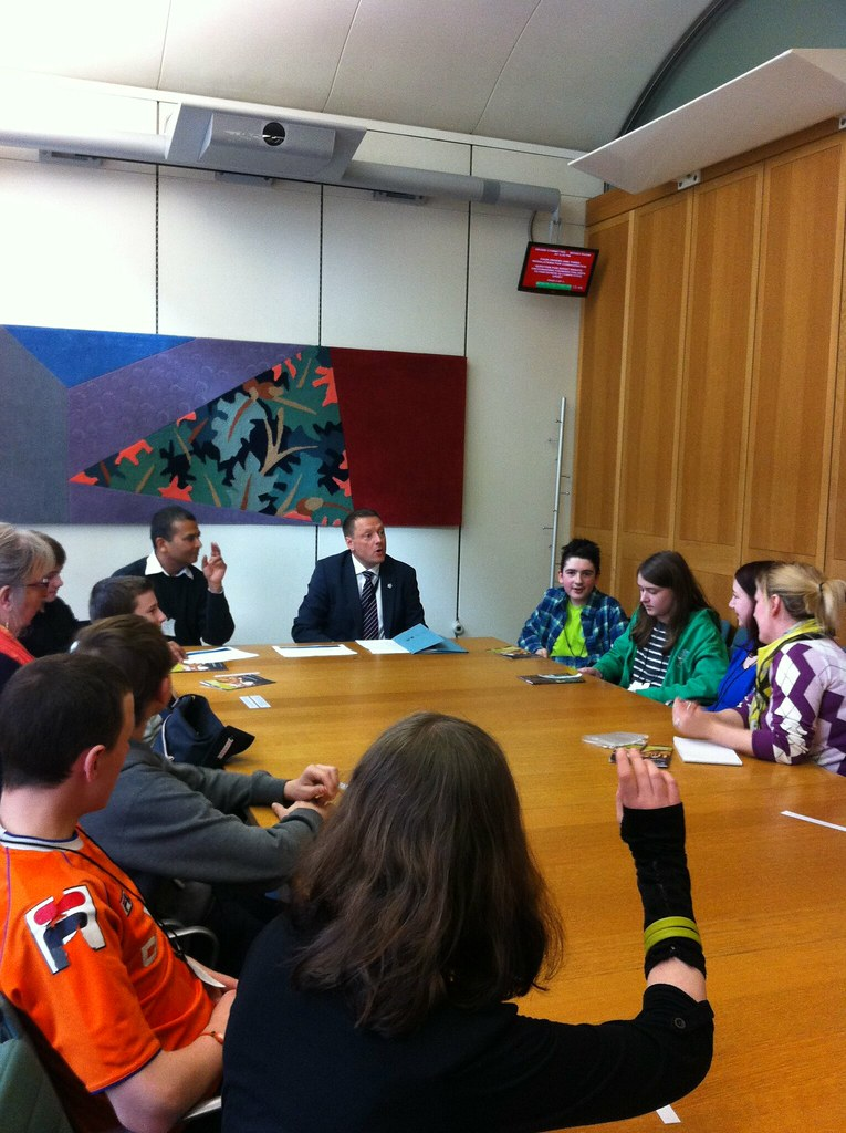 Huddersfield Youth Clubs in Parliament