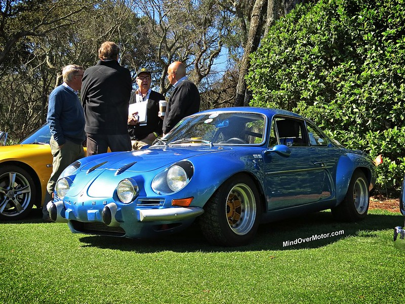 Renault Alpine at Amelia Island