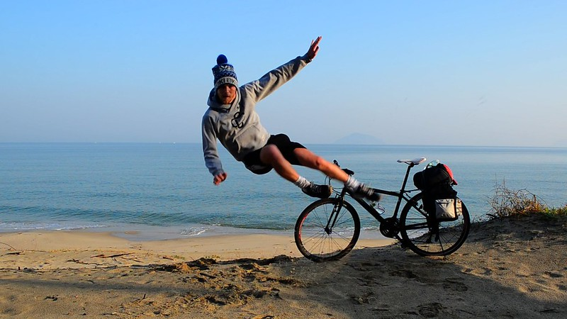 Who Needs a Bicycle When You Can Fly?